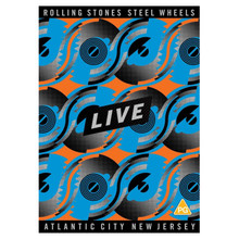 Rolling Stones - Steel Wheels Live, Atlantic City, New Jersey (DVD)