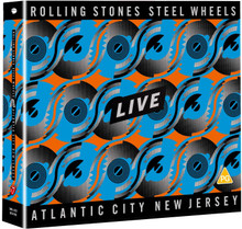 Rolling Stones - Steel Wheels Live, Atlantic City, New Jersey (2CD,DVD)