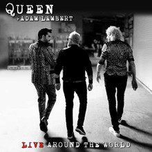 Queen + Adam Lambert - Live Around The World (CD,DVD)
