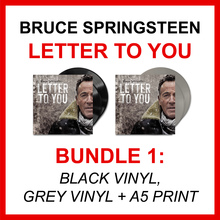 Bruce Springsteen - Letter To You (BUNDLE 1: BLACK VINYL + GREY VINYL + A5 PRINT)