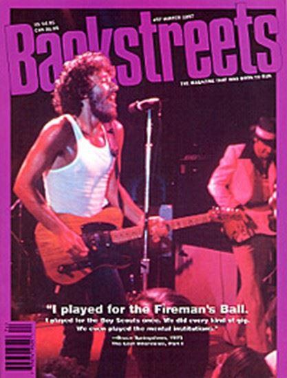 Bruce Springsteen - Backstreets 57 Winter 1997 (MAGZINE)