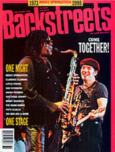 Bruce Springsteen - Backstreets 58 Spring 1998 (MAGAZINE)