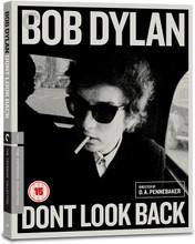 Don't Look Back, Documentary, D.A. Pennebaker, Criterion Range (BLU-RAY)