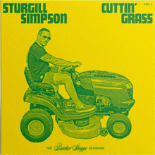 Sturgill Simpson - Cuttin' Grass Vol. 1, Butcher Shoppe Sessions (CD)