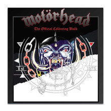 Motörhead (OFFICIAL 25 PAGE COLOURING BOOK)