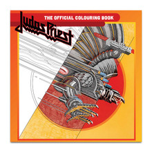 Judas Priest (OFFICIAL 25 PAGE COLOURING BOOK)