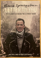 Bruce Springsteen  - Letter to You Official A3 promotional poster (POSTER)