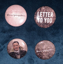 Bruce Springsteen  - Letter to You promo badge pack