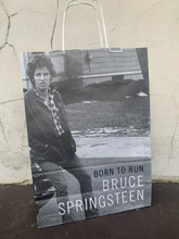 Bruce Springsteen  - Born To Run autobiography deluxe paper bag