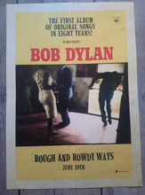 Bob Dylan  -Rough & Rowdy Ways Official A3 promotional poster (POSTER)