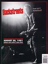 Bruce Springsteen - Backstreets 72 (MAGAZINE)
