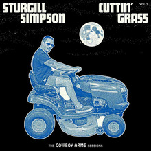 Sturgill Simpson - Cuttin' Grass Vol. 2 Cowboy Arms (BLUE VINYL LP)