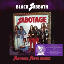 """Black Sabbath - Sabotage Remastered (VINYL BOXSET 4LP + 7"""")"""