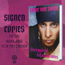 Stevie Van Zandt - Unrequited Infatuations. The Autobiography Limited edition signed by Little Steven