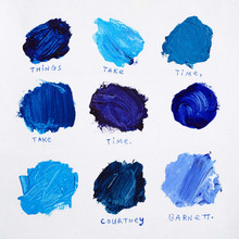 Courtney Barnett - Things Take Time, Take Time (BLUE VINYL LP)