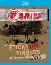 The Rolling Stones: From The Vault - Sticky Fingers Live At The Fonda Theatre 2015 (Blu-Ray)