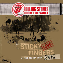 "The Rolling Stones: From The Vault - Sticky Fingers Live At The Fonda Theatre 2015 (DVD + 3 x 12"" VINYL LP)"
