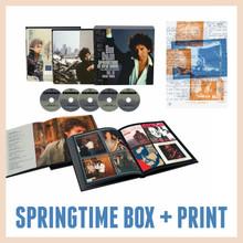 Bob Dylan - Springtime In New York: The Bootleg Series Vol. 16 (1980 – 1985) (5CD BOXSET DELUXE EDITION) + PRINT