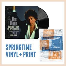 Bob Dylan - Springtime In New York: The Bootleg Series Vol. 16 (1980 – 1985) (2 VINYL LP + PRINT)