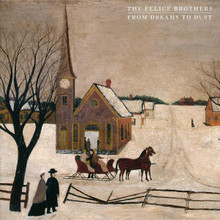 The Felice Brothers - From Dreams To Dust (NEW RED,CREAM VINYL LP)