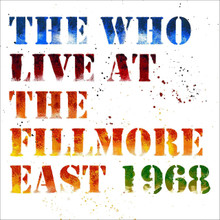 The Who - Live At The Fillmore East (2 x CD)