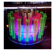 LED RGB TEXT TUBE SHOT RACK