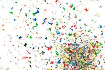 CONFETTI POPPER Tissue Confetti CANNON 12 INCH (Singles/Bulk)