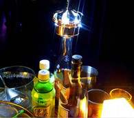 LED CROWN, MOET CROWN, LIGHT UP, CROWN,CHAMPAGNE, BOTTLE, SERVICE