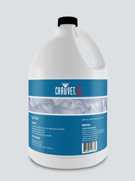chauvet fog juice for all the fog machines