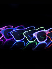 led glow sunglasses