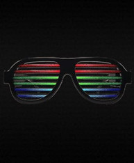 SOUND ACTIVATED SUNGLASSES EYEWEAR