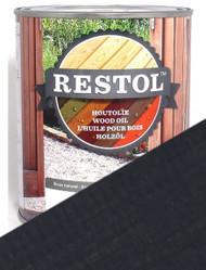 Restol Wood Oil in Anthracite Grey