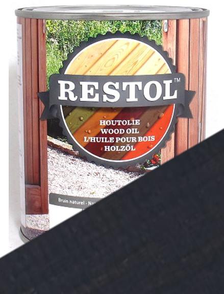 Restol Wood Oil in Anthracite Grey