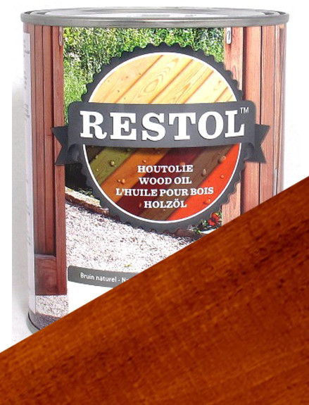 Restol Wood Oil in Brown