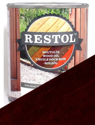 Restol Wood Oil in Dark Oak
