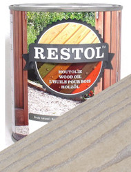Restol Wood Oil in White Wash
