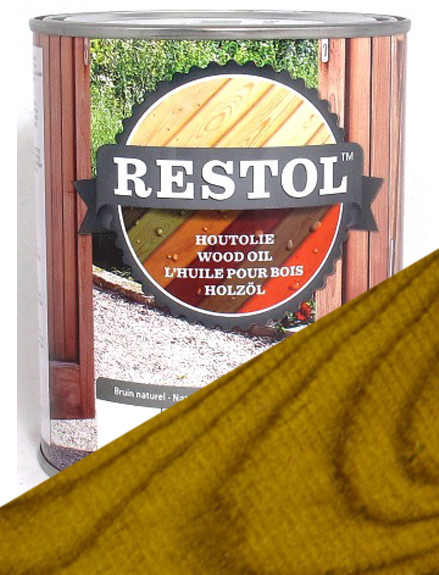 Restol Wood Oil in Garden Timber Yellow