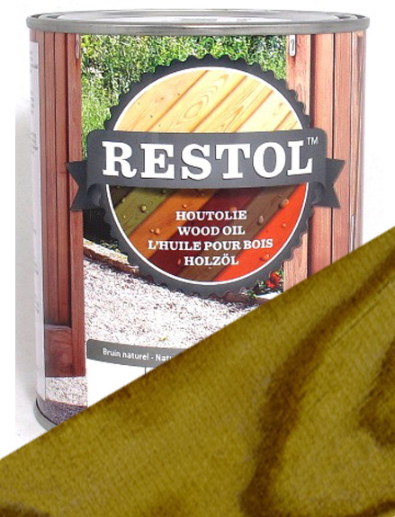 Restol Wood Oil in Garden Timber Green