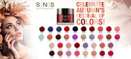 SNS Gelous Color 1oz - Dipping Powders