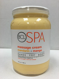 BCL Spa Massage Cream 64 oz - 6 Scents