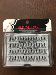 BS Natural - EyeLash ULTRA FLARE - Black 72 pack/case - Long