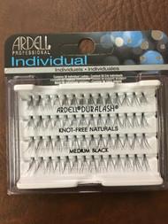 Ardell Individual Eyelashes - Black - 72 Packs/Case - Medium