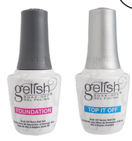 TCG Harmony Gelish Top & Base Coat 0.5oz