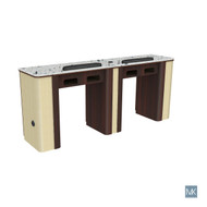 Verona Nail Table - Double Gel insert optional