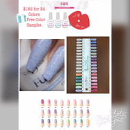 Cre8tion Fur Gel Collection 24 Colors with 1 Free Color Sample