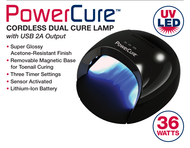 LED PowerCure Cordless Dual Cure Lamp with USB 2A Output