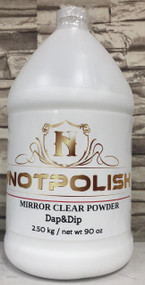 NotPolish Clear Powder - 90oz - Dap & Dip
