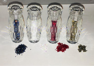 DesignG Cre8tion Mini Rhinestones in Tube 5g (Black, Blue, Red, White)