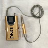 Drill DND Portable Nail Drill Gold/Silver 35000 RPM
