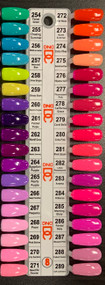 Duo DC DND Matching Gel & Polish - Chart # 8 (254-289) New
